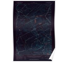 Maine USGS Historical Map Saint Zacharie 306751 1957 62500 Inversion Poster