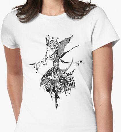 Ballerin Womens Fitted T-Shirt