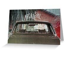 Arcade Fire Suburbs Greeting Card