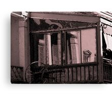 Architectural Reflections From Another Era Canvas Print