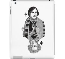 Gogol vs Pushkin iPad Case/Skin