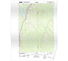 Maine USGS Historical Map Salmon Stream Lake 20110902 TM Poster