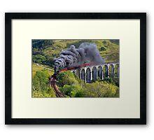 The Jacobite train Framed Print