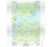 Maine USGS Historical Map Salsbury Cove 102938 1981 24000 Poster