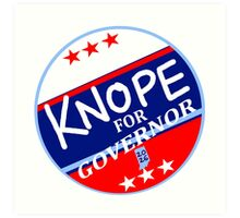 KNOPE FOR GOVERNOR 2026 Art Print