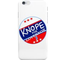 KNOPE FOR GOVERNOR 2026 iPhone Case/Skin