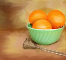 Fresh Oranges by MaryTimman