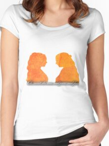 Sansa and Margaery Women's Fitted Scoop T-Shirt