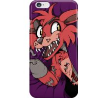 Foxy in the Curtain iPhone Case/Skin