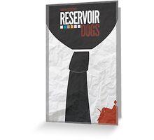 Reservoir Dogs Greeting Card