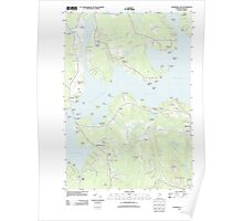 Maine USGS Historical Map Salsbury Cove 20110909 TM Poster