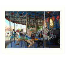 Carousel! Art Print