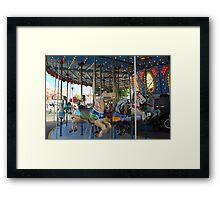 Carousel! Framed Print