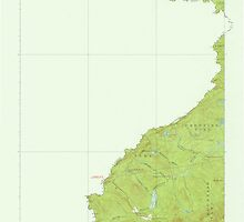 Maine USGS Historical Map Sandy Bay 306752 1927 62500 by wetdryvac