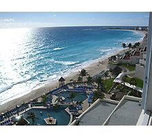 Cancun Photographic Print
