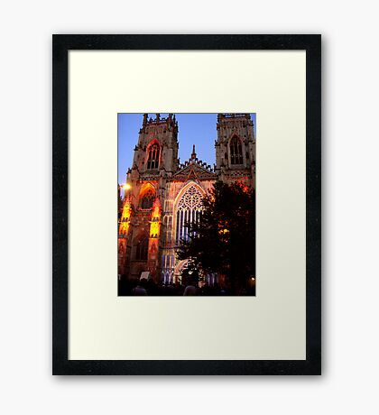 York Minster #6 Framed Print