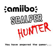 Amiibo Scalper Hunter OFFICIAL Photographic Print