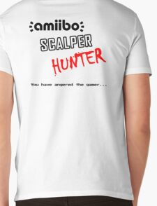 Amiibo Scalper Hunter OFFICIAL Mens V-Neck T-Shirt