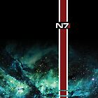 Mass Effect N7 Galaxy  by ThePyratQueen