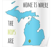 Where the hops are Poster