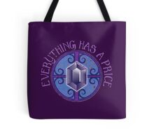 Everything has a price with black jewel Tote Bag