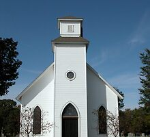 Sugar Creek Cemetery Chapel by mnkreations