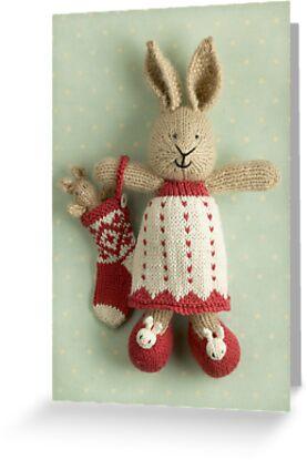 merry christmas Lotta by bunnyknitter