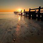Happisburgh-sunrise by cieniu1