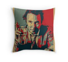 DOUG STANHOPE Throw Pillow