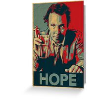 DOUG STANHOPE Greeting Card