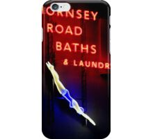 Hornsey Road Baths & Laundry  iPhone Case/Skin