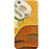 Home maker furniture retro illustration iPhone Case/Skin