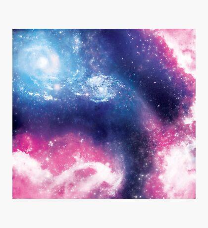 Purple Galaxy Photographic Print
