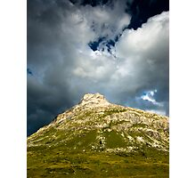 dark hill Photographic Print
