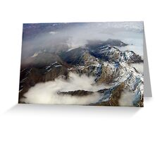Alpes 2 Greeting Card