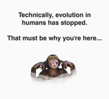 Evolution Halted by crackgerbal