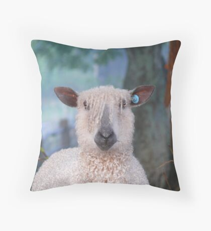Like the fringe Lamby  (as is) Throw Pillow
