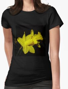 Daffodils Womens Fitted T-Shirt