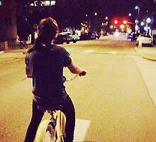 Harry on bike by animationod