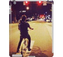 Harry on bike iPad Case/Skin