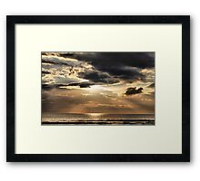 light from the heavens Framed Print