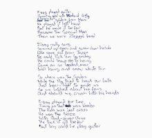 Ziggy Stardust lyrics Tank Top