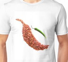 red chili pepper food photography Unisex T-Shirt
