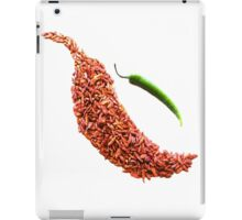red chili pepper food photography iPad Case/Skin