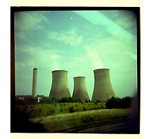 gargantuan concrete triplets Photographic Print