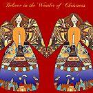 christmas angels - believe by aquaarte