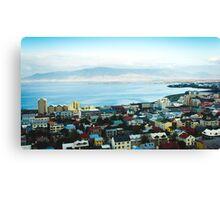 Reykjavik View  Canvas Print