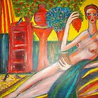 Lady in the Sunroom by catherine walker