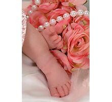 Precious Feet Photographic Print
