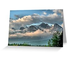 Rocky Mountains - Canmore, Alberta Greeting Card